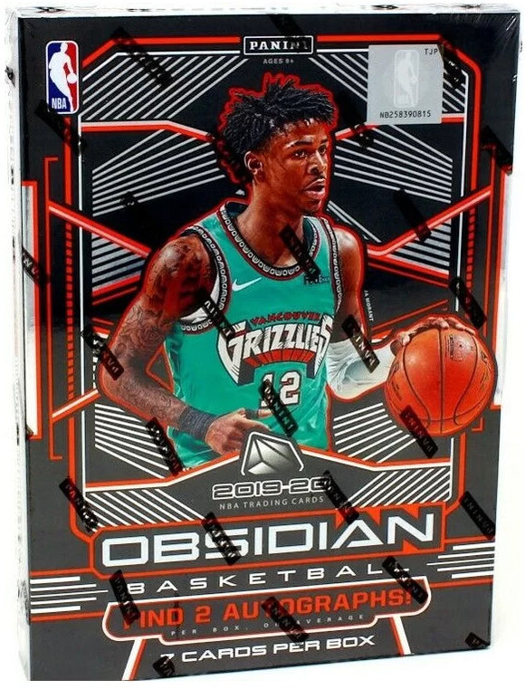 2019-20 Panini Obsidian Basketball Hobby Box - Collector's Avenue