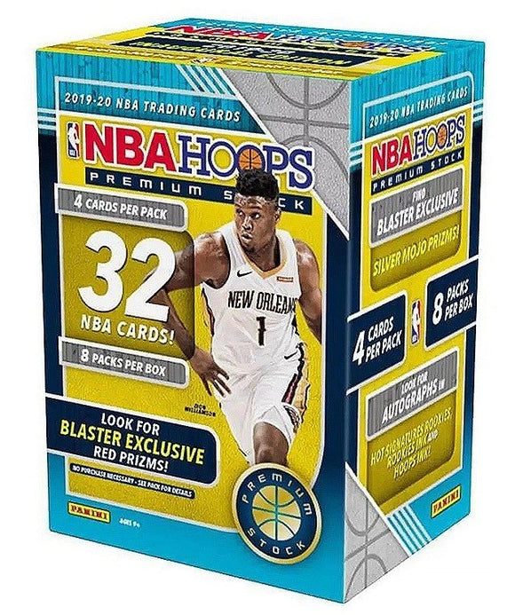 2019-20 Panini Hoops Premium Stock Basketball Blaster Box - Collector's Avenue