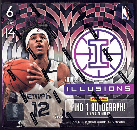 2019-20 Panini Illusions Basketball Hobby Box - Collector's Avenue
