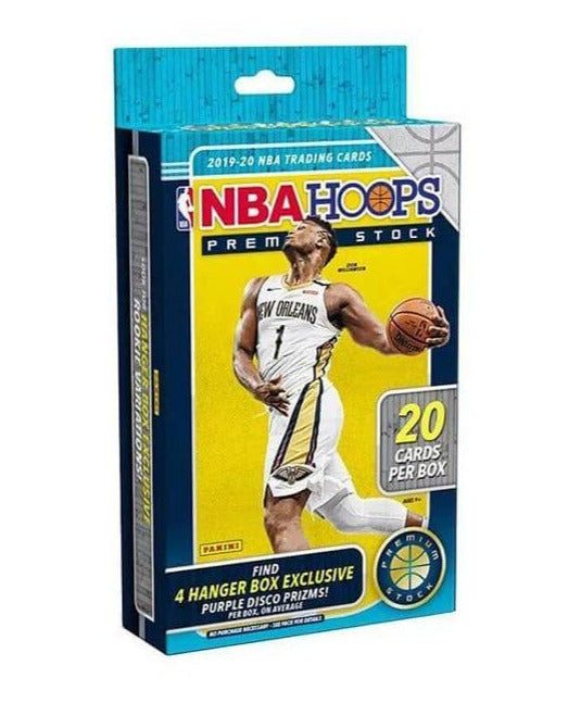 2019-20 Panini NBA Hoops Premium Stock Basketball Hanger Box - Collector's Avenue