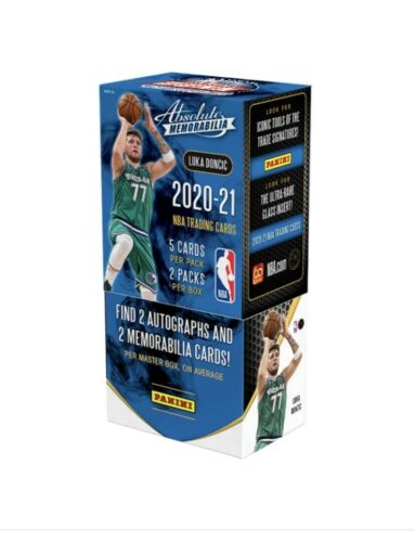 2020-21 Panini Absolute Memorabilia Basketball Hobby Box - Collector's Avenue