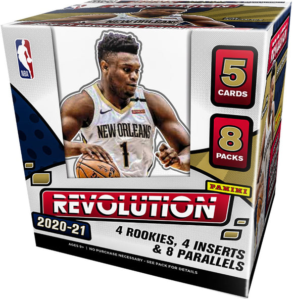 2020-21 Panini Revolution Basketball Hobby Box - Collector's Avenue