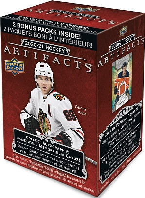 2020-21 Upper Deck Artifacts Hockey Blaster Box - Collector's Avenue