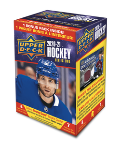 2020-21 Upper Deck Series 2 Hockey Blaster Box - Collector's Avenue