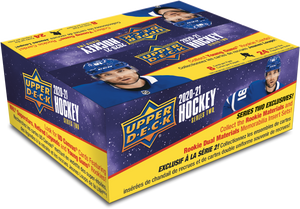 2020-21 Upper Deck Series 2 Hockey Retail Box - Collector's Avenue