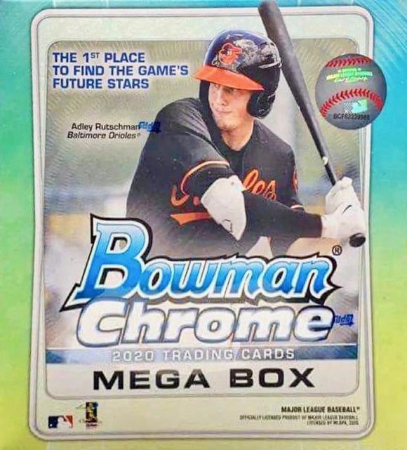 2020 Bowman Chrome Baseball Mega Box - Collector's Avenue