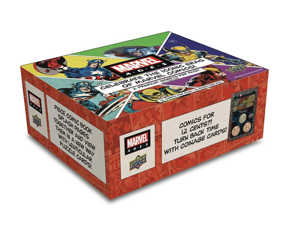 2020 Upper Deck Marvel Ages Hobby Box - Collector's Avenue