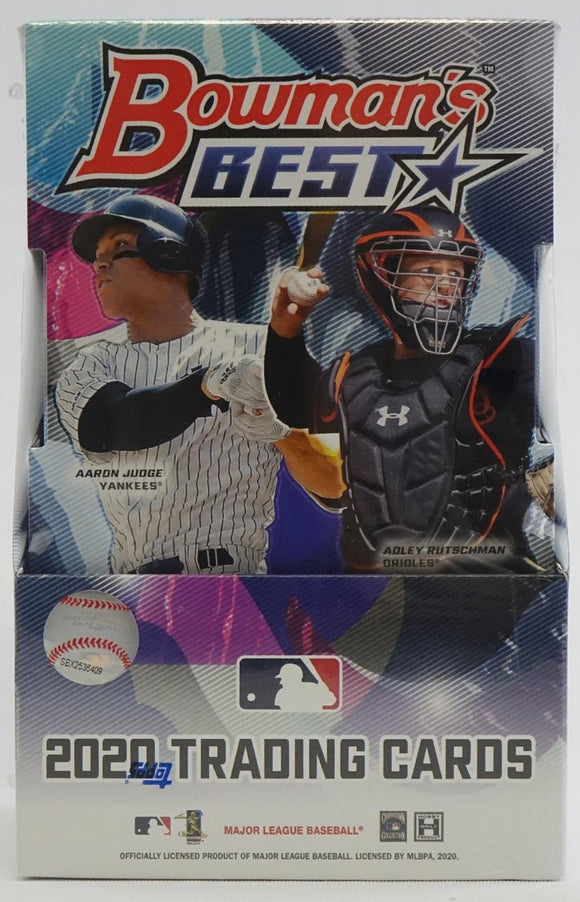 2020 Bowman's Best Baseball Hobby Box - Collector's Avenue