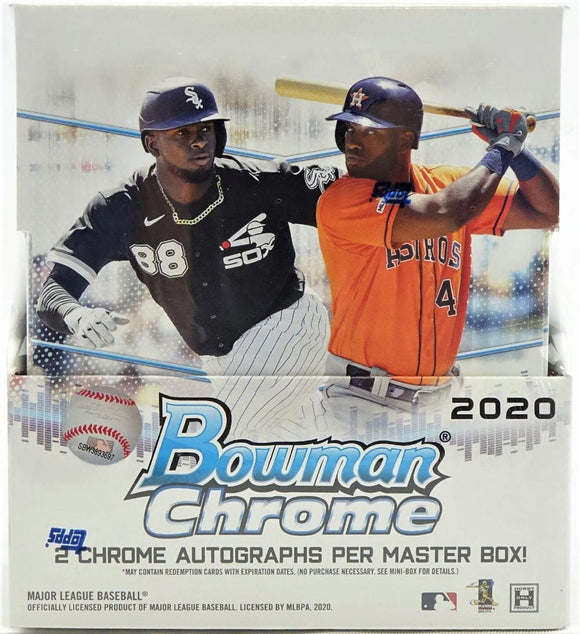 2020 Bowman Chrome Baseball Hobby Box - Collector's Avenue