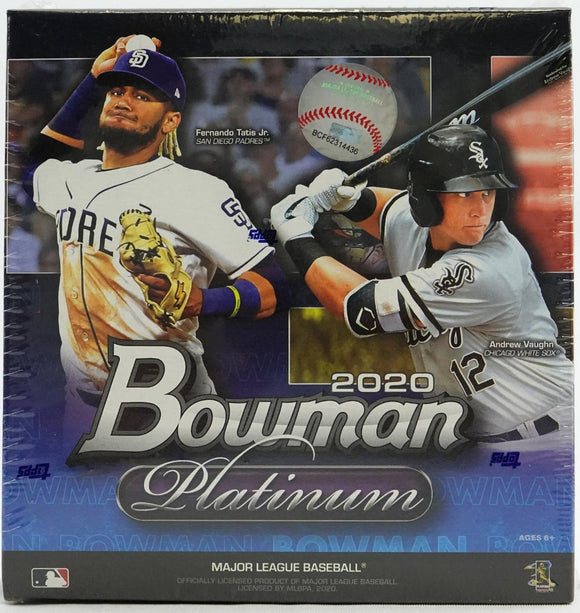 2020 Bowman Platinum Baseball Mega Box - Collector's Avenue