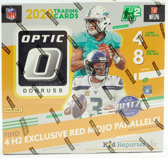 2020 Panini Donruss Optic Football Hobby Hybrid Box - Collector's Avenue