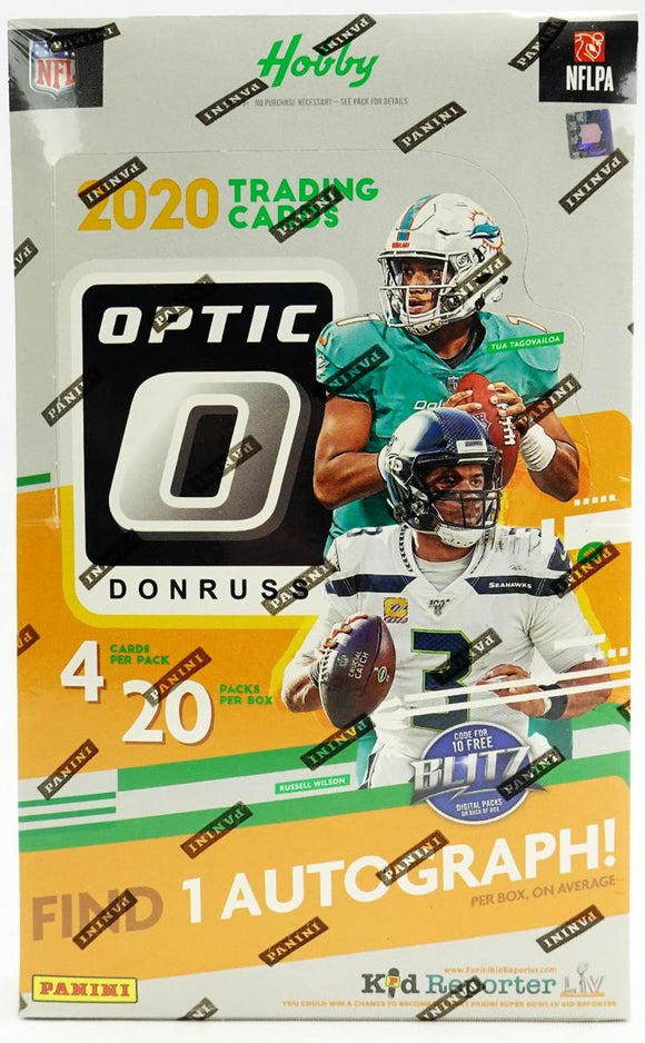 2020 Panini Donruss Optic Football Hobby - Collector's Avenue
