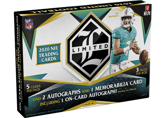 2020 Panini Limited Football Hobby Box - Collector's Avenue