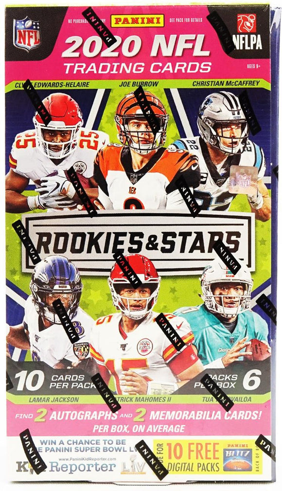 2020 Panini Rookies & Stars Football Hobby Box - Collector's Avenue