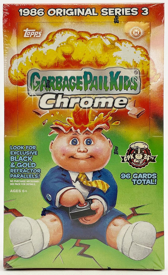 2020 Topps Garbage Pail Kids Chrome Series 3 Hobby Box (Topps 2020) - Collector's Avenue
