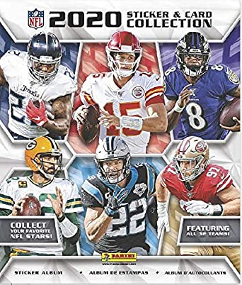 2020 Panini NFL Football Sticker Album - Collector's Avenue