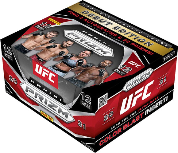 2021 Panini UFC Prizm Hobby Box - Collector's Avenue