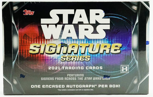 2021 Topps Star Wars Signature Series Hobby Box - Collector's Avenue
