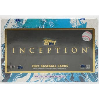 2021 Topps Inception Baseball Hobby Box - Collector's Avenue