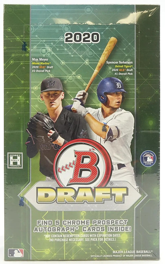 2020 Bowman Draft Baseball Super Jumbo Hobby Box - Collector's Avenue