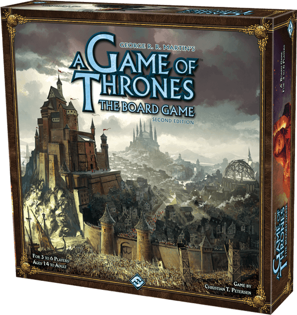 A Game of Thrones: The Board Game (Second Edition) - Collector's Avenue