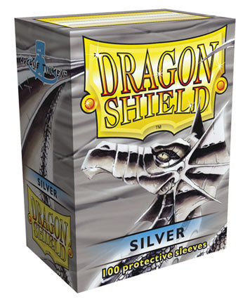 Dragon Shield Classic - standard size - 100 ct. Silver - Collector's Avenue