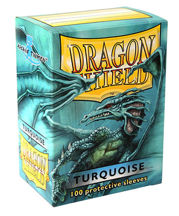 Dragon Shield Classic - standard size - 100 ct. Turquoise - Collector's Avenue