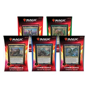 Mtg Magic The Gathering Ikoria Commander Set of 5 Decks - Collector's Avenue