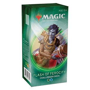 Mtg Magic The Gathering Challenger Decks 2020 Flash of Ferocity - Collector's Avenue