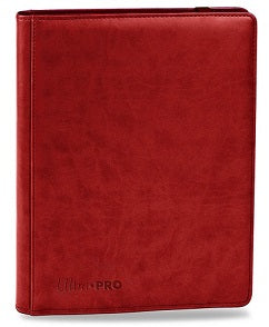 Ultra Pro Premium 9-Pocket PRO-Binder Red - Collector's Avenue