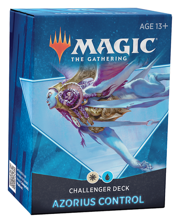 Mtg Magic The Gathering - Challenger Deck 2021 - Azorius Control - Collector's Avenue