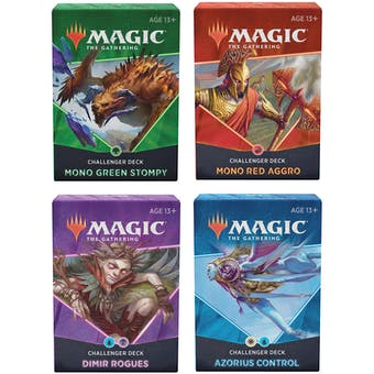 Mtg Magic The Gathering - Challenger Deck 2021 - Set of 4 - Collector's Avenue