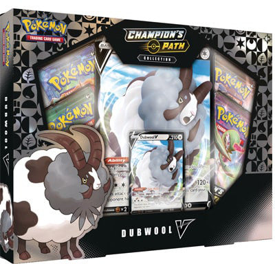 Pokemon Champion's Path Dubwool V Collection Box - Collector's Avenue