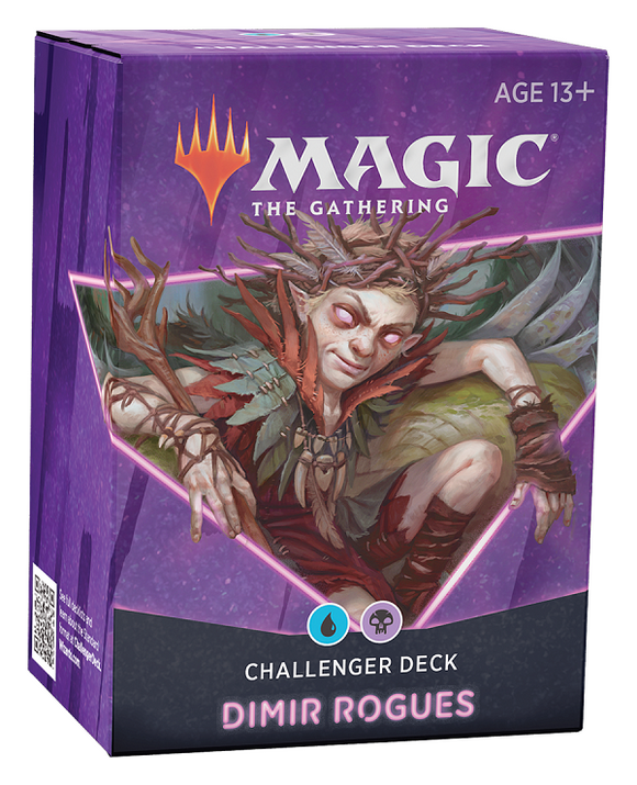 Mtg Magic The Gathering - Challenger Deck 2021 - Dimir Rogues - Collector's Avenue