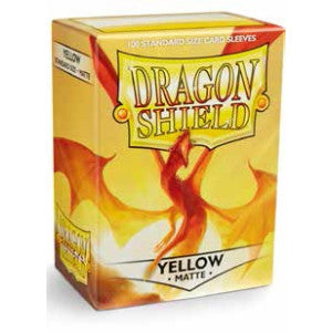 Dragon Shield Matte - standard size - 100 ct. Yellow - Collector's Avenue