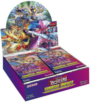 Yu-Gi-Oh! Genesis Impact Booster Box - Collector's Avenue