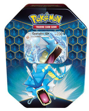Pokemon Hidden Fates Gyarados GX Tin - Collector's Avenue
