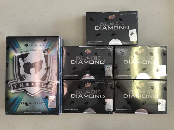 GROUP BREAK TEAM RANDOM - THE CUP +  BLACK DIAMOND INNER CASE (5 Packs) - Collector's Avenue