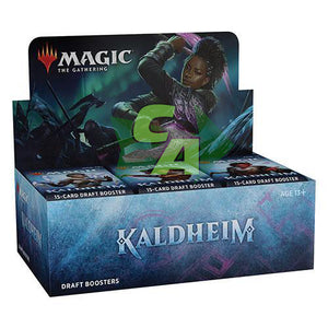 MTG Magic The Gathering Kaldheim Draft Booster Box - Collector's Avenue