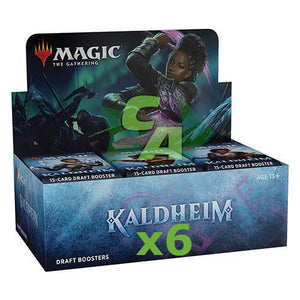 MTG Magic The Gathering Kaldheim Draft Booster Case (6 Boxes) - Collector's Avenue