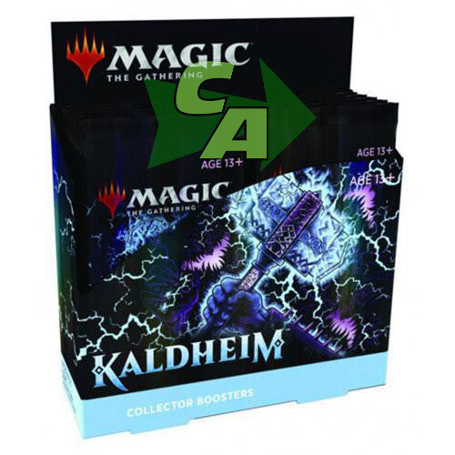 MTG Magic The Gathering Kaldheim Collector Booster Box - Collector's Avenue
