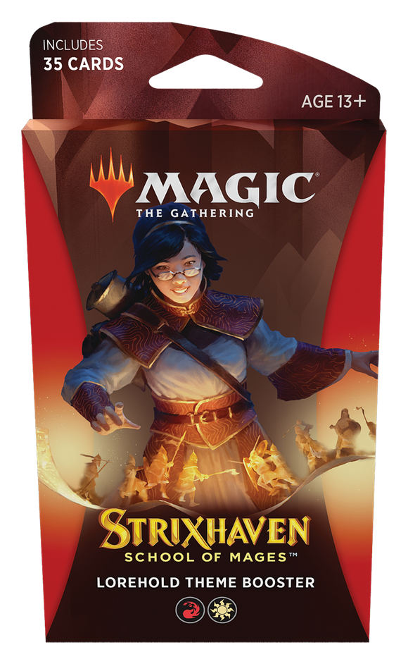 MTG Magic The Gathering Strixhaven Theme Booster Pack - Lorehold - Collector's Avenue