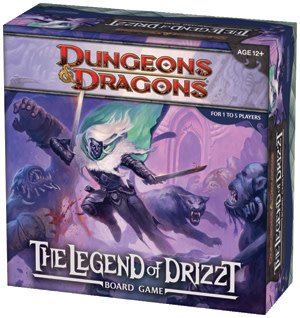 Dungeons & Dragons: Legend Of Drizzt Adventure System Board Game - Collector's Avenue
