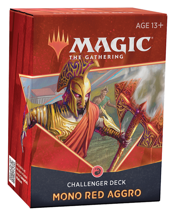 Mtg Magic The Gathering - Challenger Deck 2021 - Mono Red Aggro