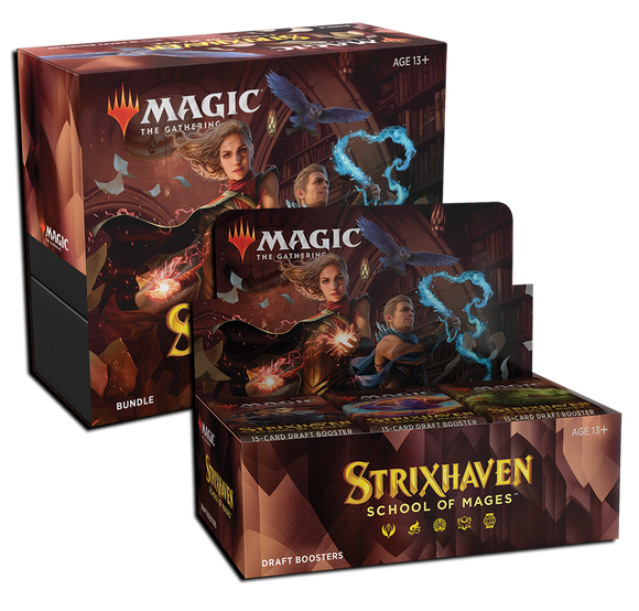 MTG Magic The Gathering Strixhaven (Draft Booster + Bundle) Combo #1