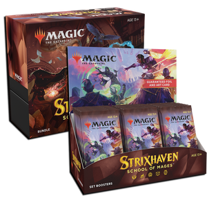 MTG Magic The Gathering Strixhaven (Set Booster + Bundle) Combo #2 - Collector's Avenue