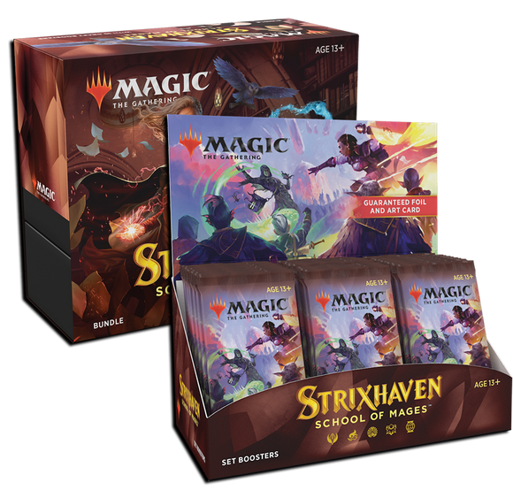 MTG Magic The Gathering Strixhaven (Set Booster + Bundle) Combo #2
