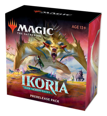 Mtg Magic The Gathering Ikoria: Lair of Behemoths Prerelease Kit - Collector's Avenue