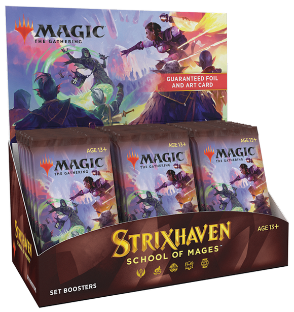 MTG Magic The Gathering Strixhaven Set Booster Box - Collector's Avenue