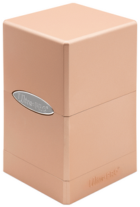 Ultra Pro Deck Box - Satin Tower - Metallic Rose Gold - Collector's Avenue